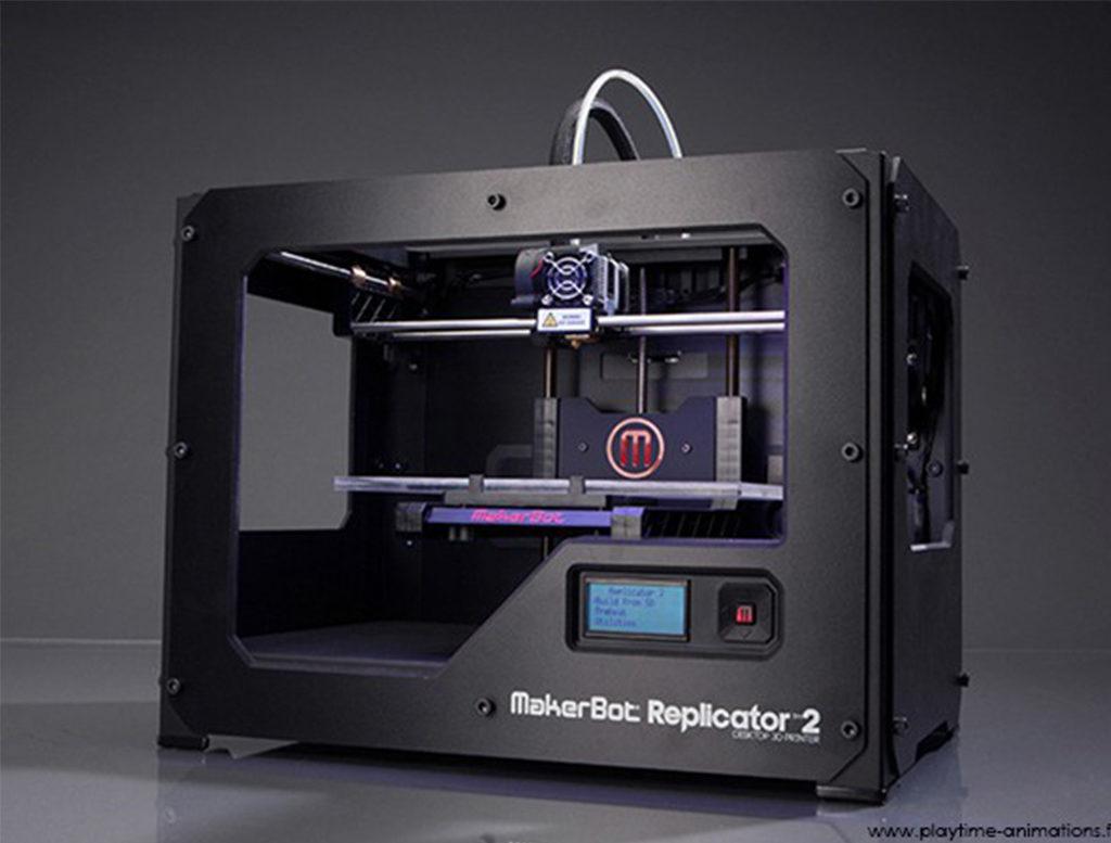 Animation : Imprimante 3D