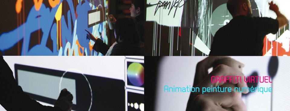 Graffiti virtuel