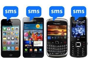 mur de sms
