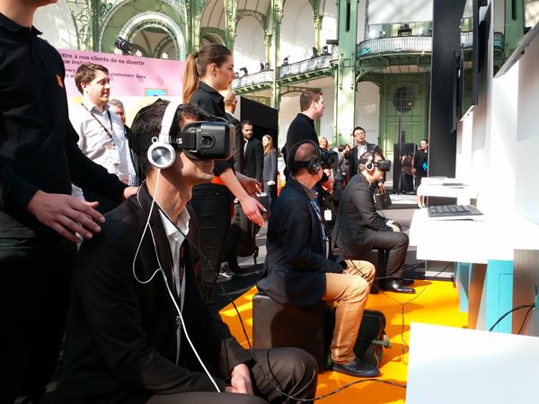 Animation Réalité Virtuelle : Oculus Rift
