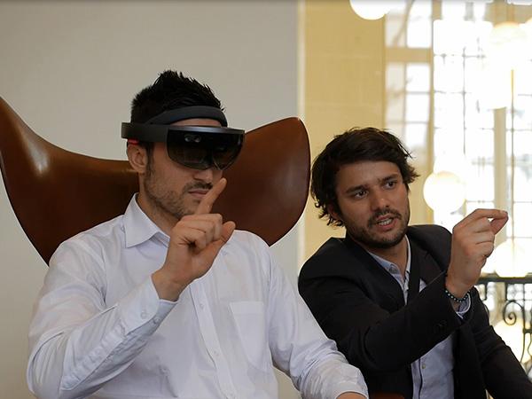 Animation réalité augmentée : Hololens