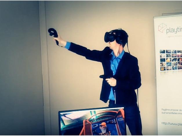 Animation Réalité Virtuelle : HTC Vive